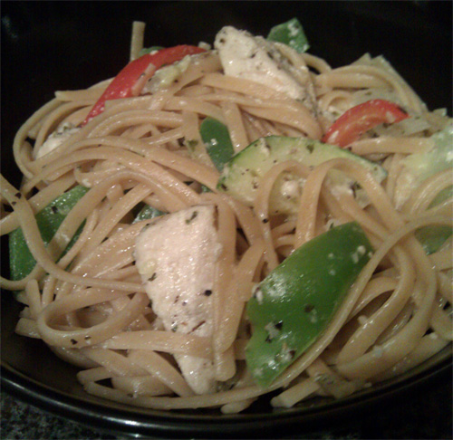 chicken-linguine-olive-oil