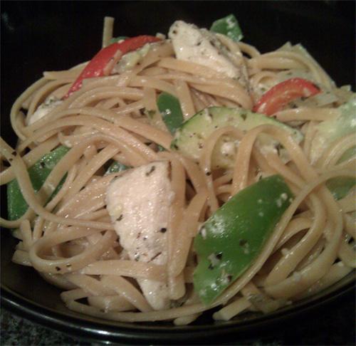 chicken-linguine-olive-oil