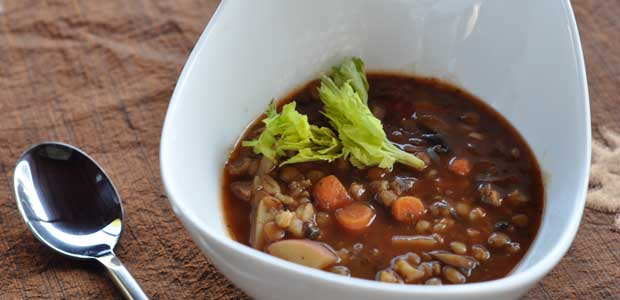 Recipe: Slow Cooker Lentil Soup