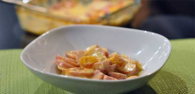 Recipe Refresh: Ham and Cheese Potatoes Au Gratin